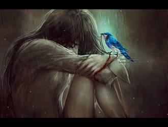 blue dreamer by NanFe