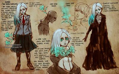 MHA Sonia Character Sheet by NanFe