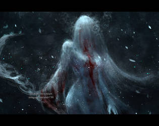 in darkness I shall be light by NanFe