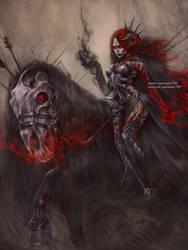 Lady Mayhem by NanFe