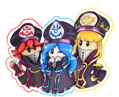 Jambastion Mages by Necromite