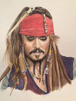 Capt Jack Sparrow by JTRIII