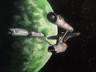 USS Enterprise by JTRIII