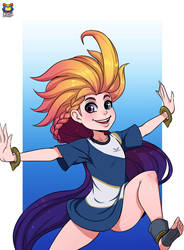Zoe by Kyoffie12