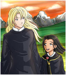 Keiki and Taiki by irishgirl982