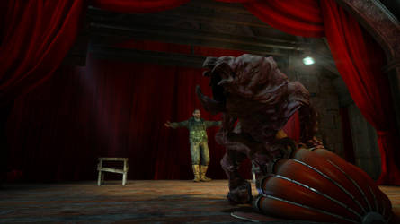 Biohazard muppet show by Indianatox