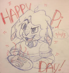 Its Pi Day!!! by JuniperScribblez
