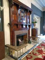 Royal Horse Guards Hotel fireplace by rkibria