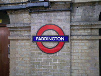 Paddington Tube sign by rkibria