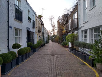 London Mews houses #4 by rkibria