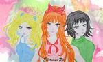 Powerpuff Girls by EllirianaRei