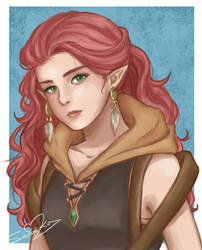 Emylia (my OC) by SousouKg