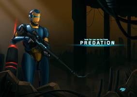 Predation by neocatastrophic