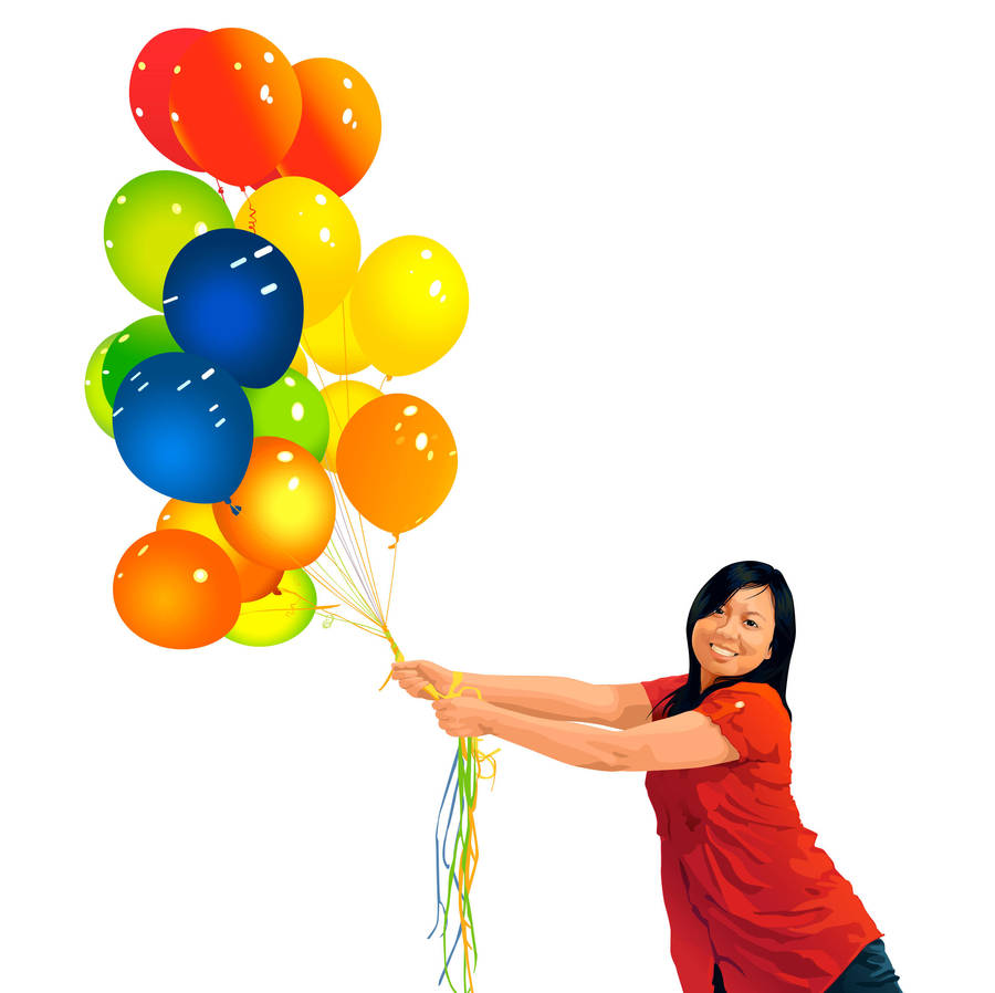 Balloons by neocatastrophic