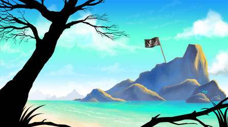Treasure Island by neocatastrophic