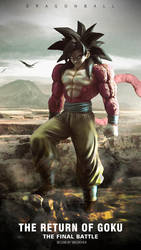 SSJ4_Son_Goku_Photography by GreenChen