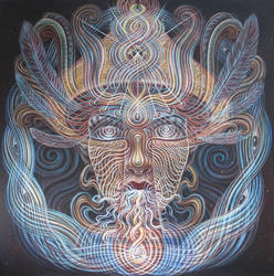 The Shaman by asage