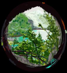 Plitvice Lakes by blalua