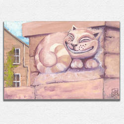 Cheshire Wall Cat by blalua