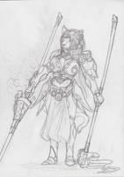 Princess Helia LionHeart 'WIP' by lostwolfen