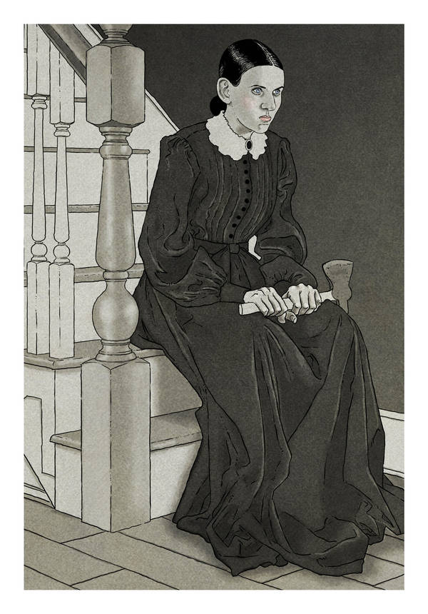 Lizzie Borden by Robertwarrenharrison