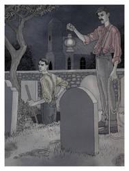 Grave Robbery by Robertwarrenharrison