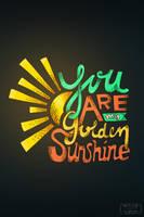 Sunshine by wiszdomart