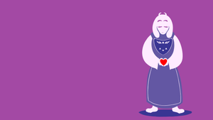 Toriel Wallpaper by hoodah