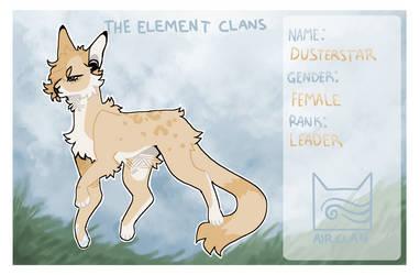 Dusterstar - TheElementClans by SassyKadabra