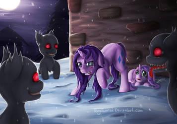 Protector [MLP Fan Art] (Dark) by PonySunrise