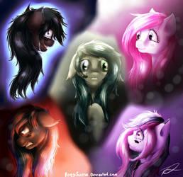 Dissociate [MLP Fan Art] (Dark/Random) by PonySunrise