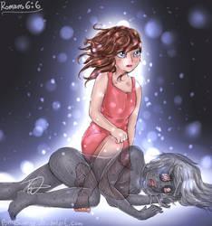 'Enslaved No More' [Human- Romans 6:6] (Dark) by PonySunrise