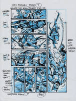 IDW TMNT One Page Seven by Kevineastman