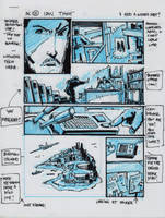 IDW TMNT One Page Twelve by Kevineastman
