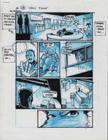IDW TMNT One Page Thirteen by Kevineastman