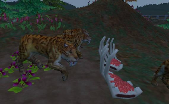 Zoo Tycoon 2 - Smilodon by KanshinX3