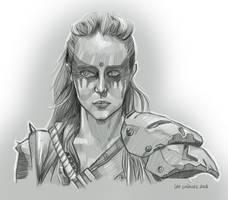 Commander Lexa by alternativejunkie