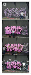 Graffiti XXXII by moonstomp