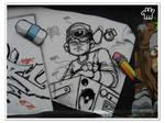 Graffiti XXXVI by moonstomp