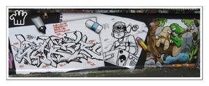 Graffiti XXXIV by moonstomp