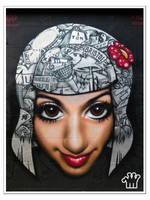 Graffiti XXXVIII by moonstomp