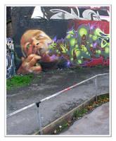 Graffiti VII by moonstomp