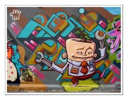 Graffiti XIV by moonstomp