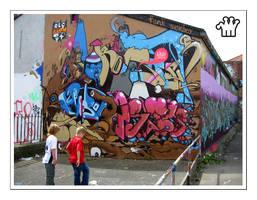 Graffiti XXII by moonstomp