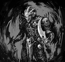 Demonic assassin by Callergi