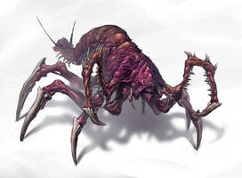 Insectoid creature 01 by Callergi