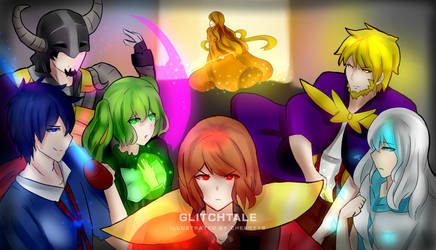 Glitchtale 7 wizards wallpaper by Toreshi
