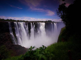 Mysterious Falls by Justin-Simpson