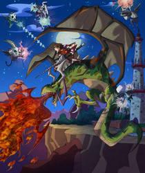 The Last Dragon Rider by MaxHwang