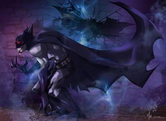 dark knight by MaxHwang